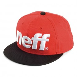 Snapback Neff Modelo Sport Red