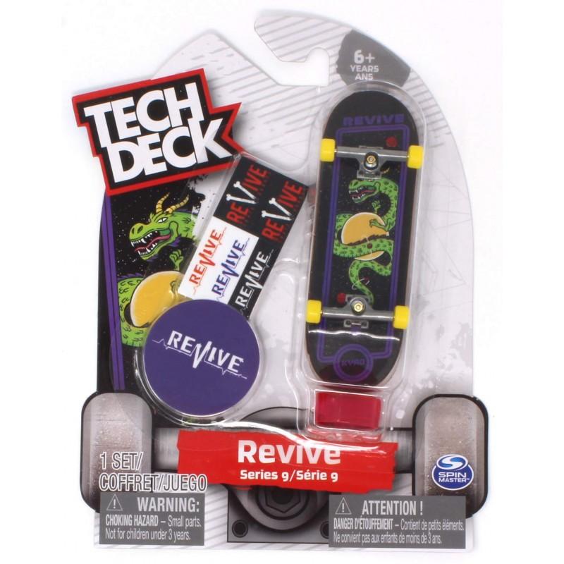 Tech Deck Revive Skateboards Modelo Arcade Pro Aaron Kyro